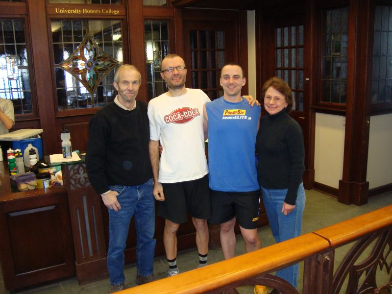 Rich & I with his parents